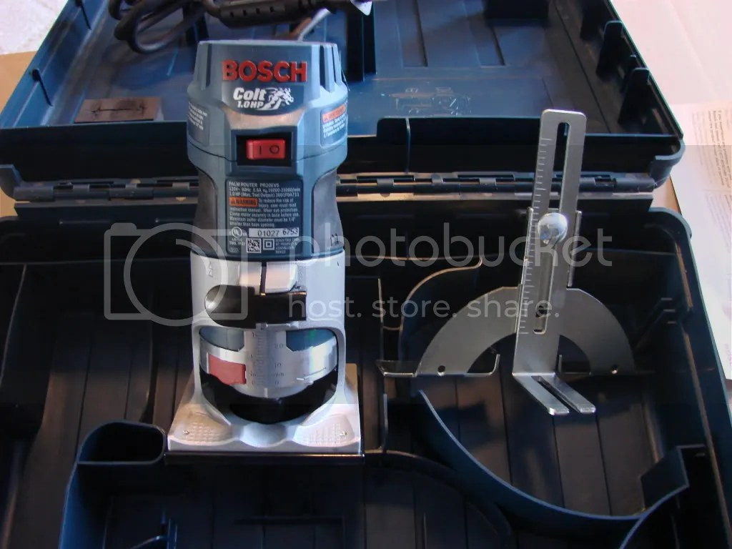 The Bosch Colt Panel Router