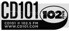 CD 101 at 102.5 Logo