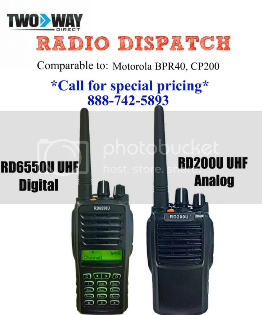 qed 2 way radio
