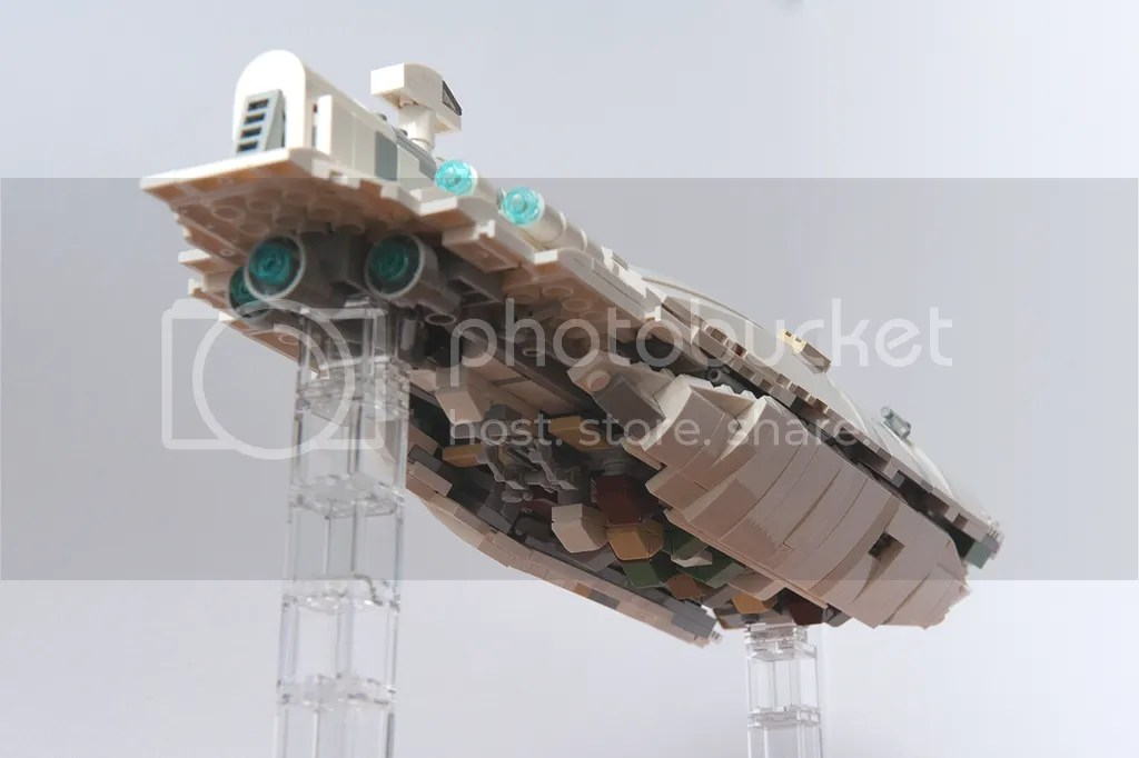 1: 250 Mini UCS Rebel Transport GR-75, by mortesv, on Eurobricks