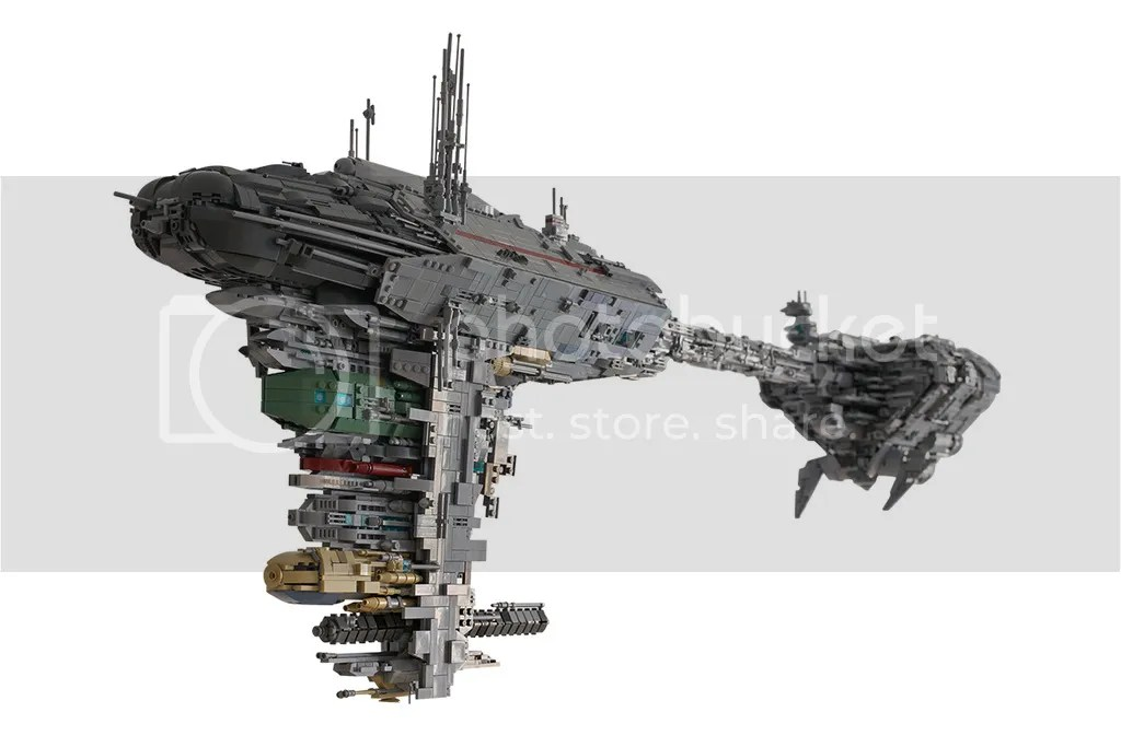 UCS Nebulon B - Medical Frigate 'Redemption', by mortesv, on Eurobricks