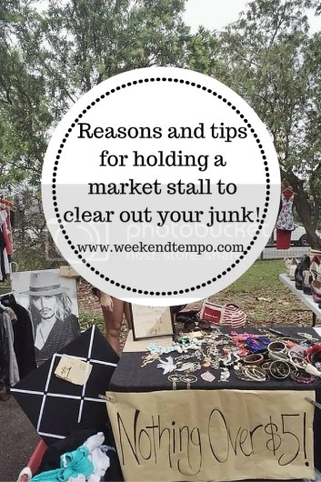 Holding a market stall: reasons and tips!