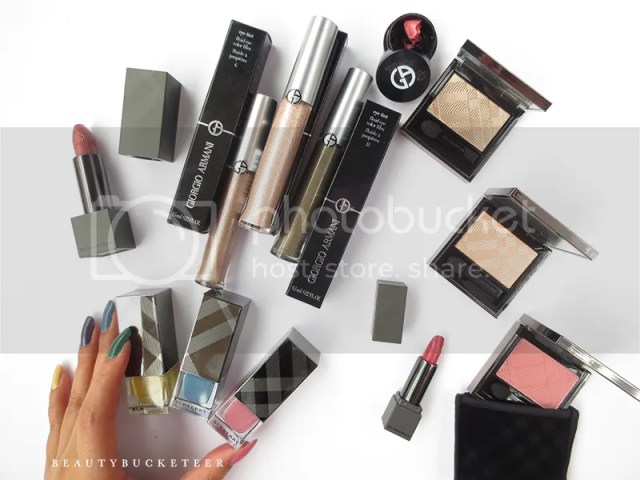 David Jones Haul: Burberry Beauty Nail Polishes, Wet/Dry Silk Shadows, Lip Velvets and Giorgio Armani Eye Tints