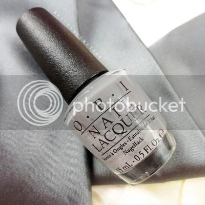 "OPI ""Embrace The Gray"""
