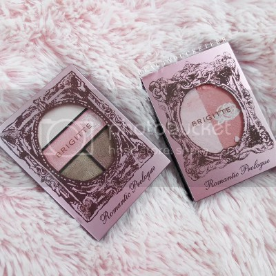 Brigitte Romantic Eyes PK-1 & Brigitte Romantic Blush RS-1