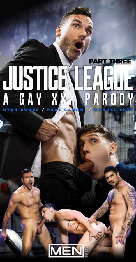 MEN – Justice League – A Gay XXX Parody Part 3