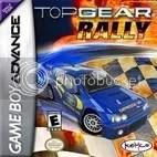 Top Gear Rally US GBA Game