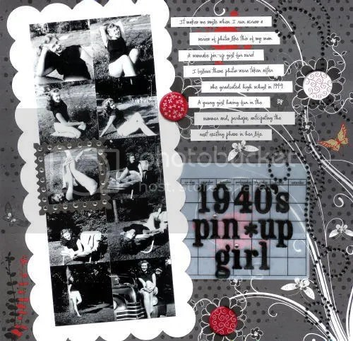 1940's Pin-Up Girl