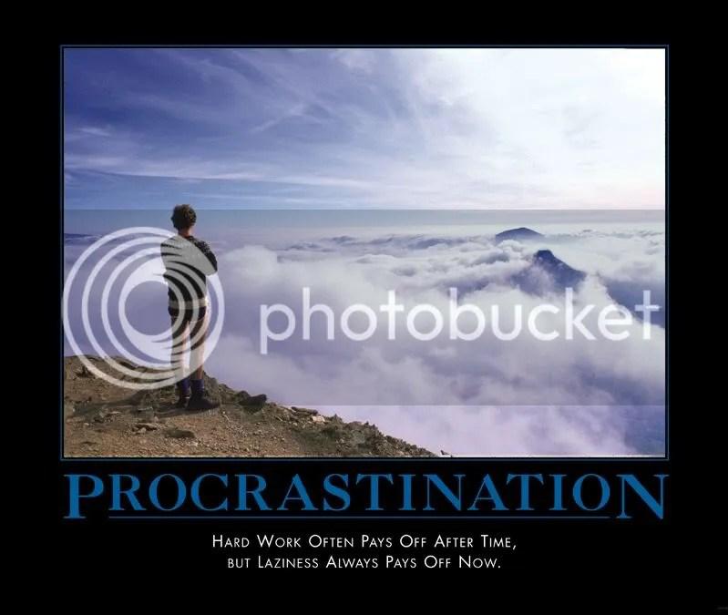 procrastination.jpg Procrastination