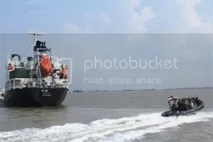 Ilustrasi: Penyelamatan pembajakan kapal MV Hai Soon 12 oleh tim VBSS Koarmatim dan KRi Untung Suropati-372 (Foto: Koarmatim)