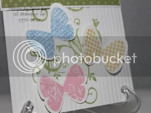 Schmetterlinge ausgestanzt