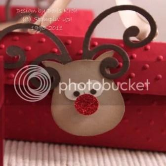 Rudolph aus Stanzteilen