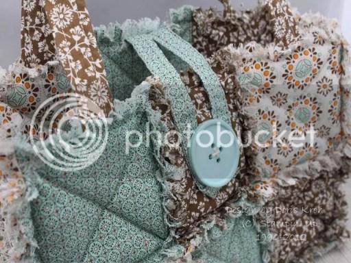 Tasche aus Designer Stoff