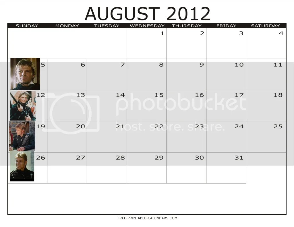 August Sharpe Sunday