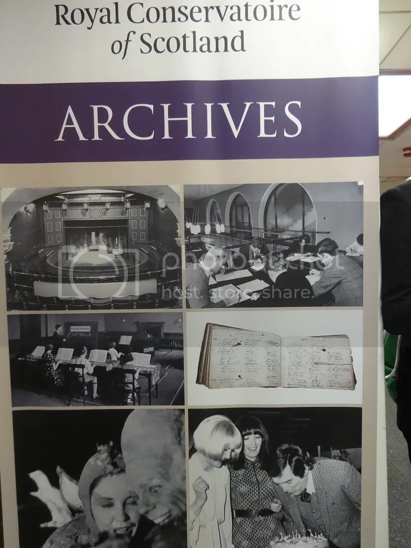 The Conservatoire archive focuses on brass.
