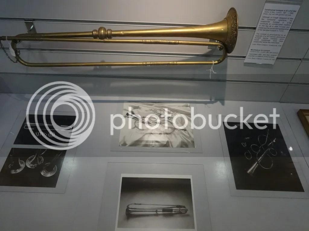 Trumpet display.
