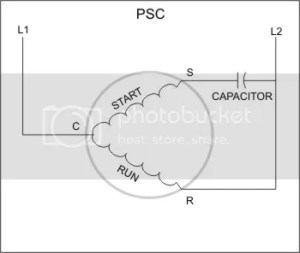 Permanent Split Capacitor Motor Wiring Diagram