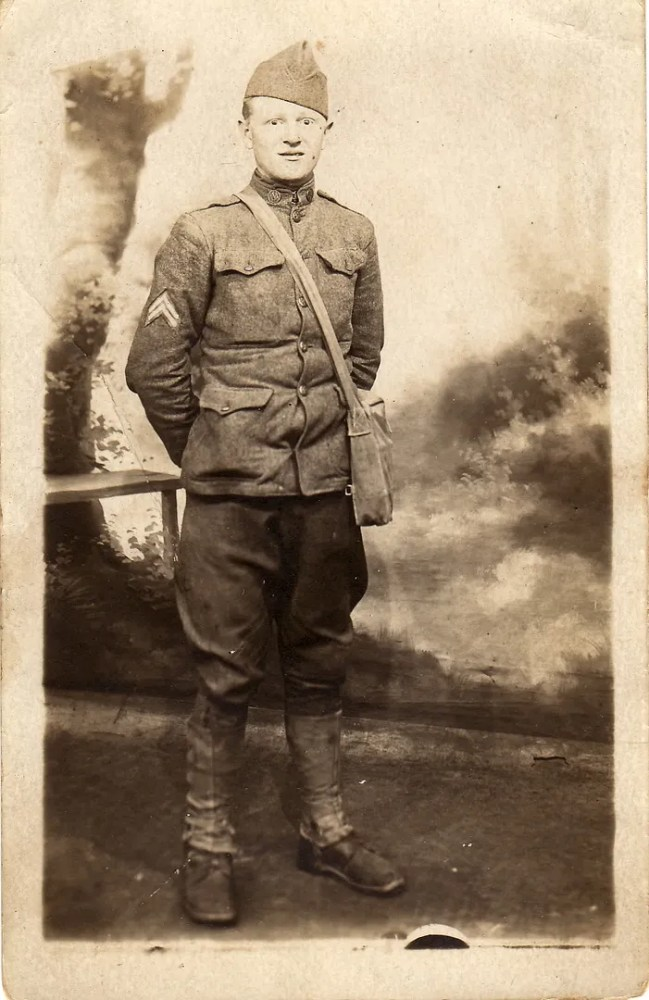 Somewhere in France, 7/20/1918