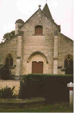 26th Division Memorial Chapel at Belleau, France