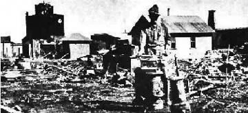 Columbus, N.M. After the Raid