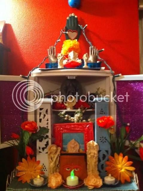 My latest altar...