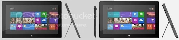 Microsoft Surface RT and Surface Pro Tablets