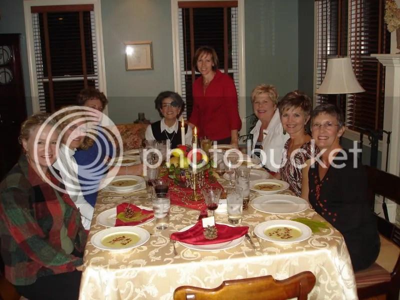 The Dinner Chicks - my house, Nov. 2008