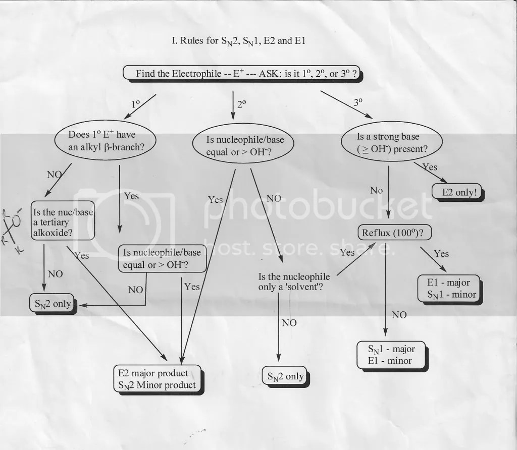 O Chem Flow Chart Photo By Blackice