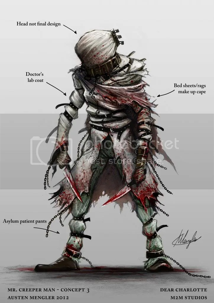 Image result for concept art horror character