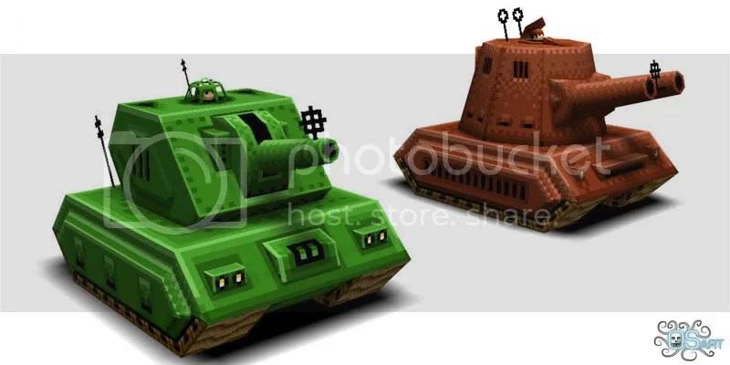tank front