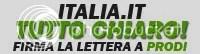 firma la lettera a Prodi per fare chiarezza su italia.it!