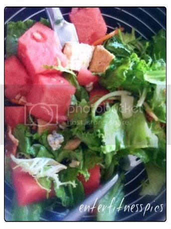 salad - watermelon