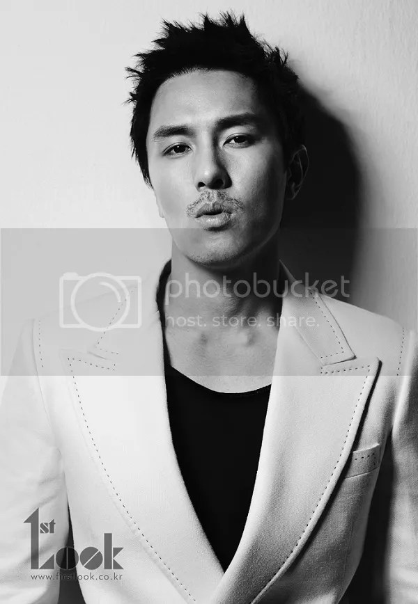 kim dong wan for 1st look magazine august2012