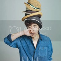 C. N. Blue's Kang Min Hyuk for ELLE Girl [June.2012]