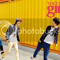 The Boys of Flower Boy Next Door for Vogue Girl [April.2013]