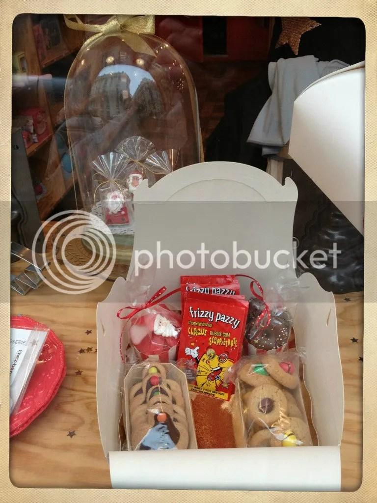 galletas en caja