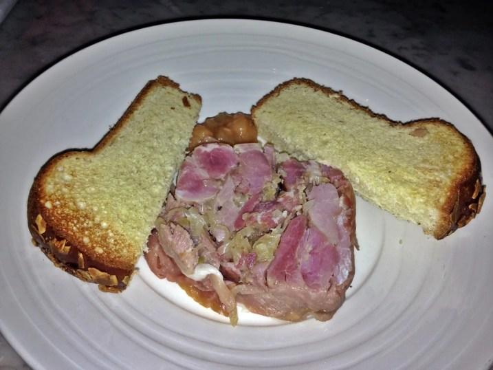 Smoked Ham Hock at Karpo Restaurant