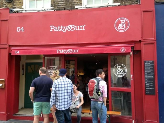 Patty & Bun St James Street
