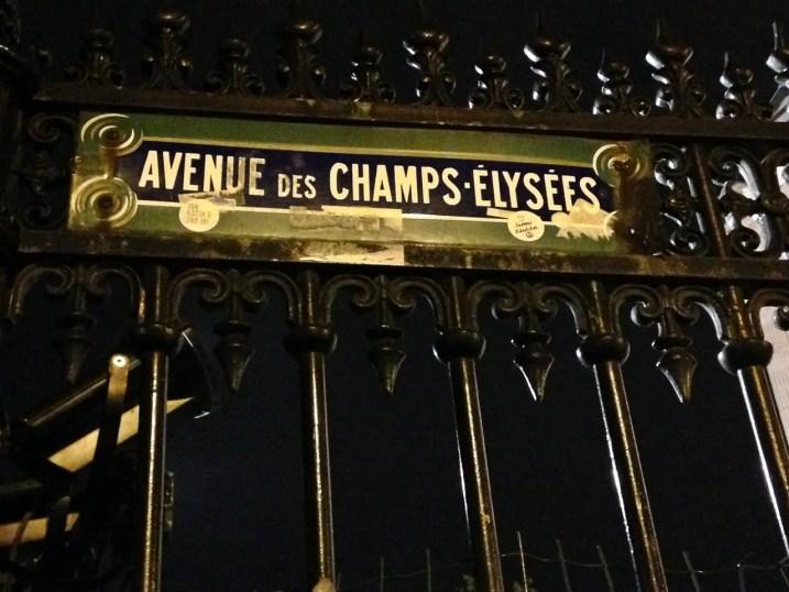 Avenue des Champs -Elysees