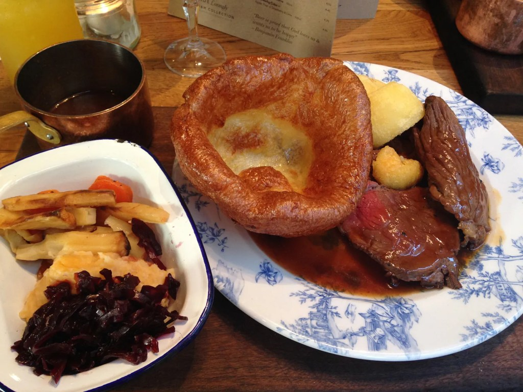 Roast Lunch at The Happenstance