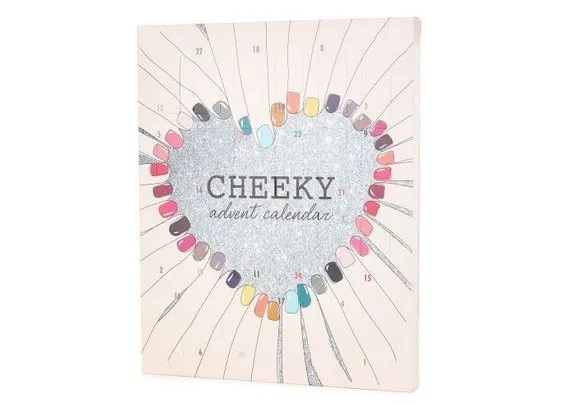 Cheeky nails advent calendar 2016