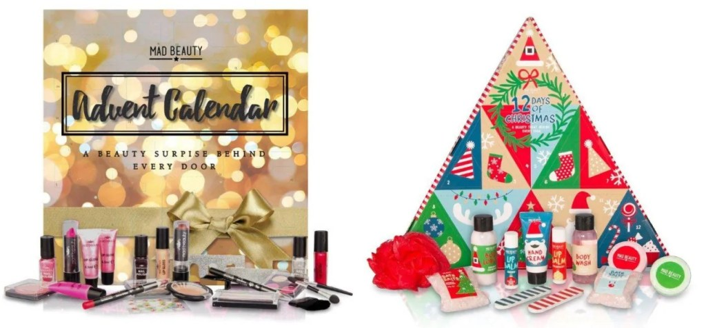 mad beauty advent calendars 2016