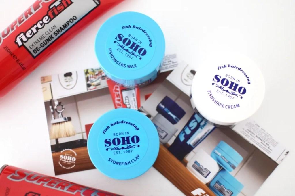 fish soho hair product review mens