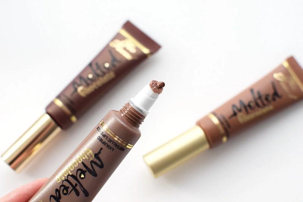 Too Faced Melted Chocolate Liquid Lipstick Metallic Diamonds