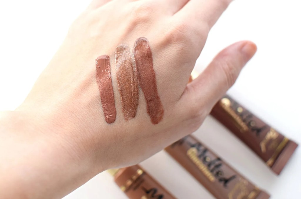 Too Faced Melted Chocolate Liquid Lipsticks Swatches