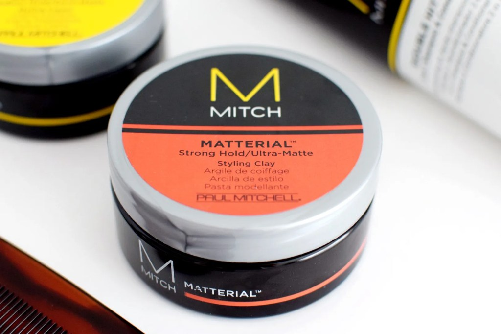 MITCH MATTERIAL Paul Mitchell Mens Hair Review