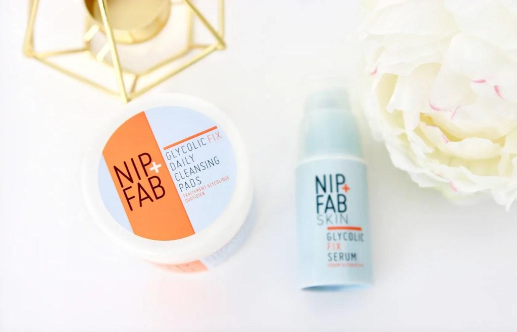 Nip & Fab Glycolic Cleansing Pads & Serum