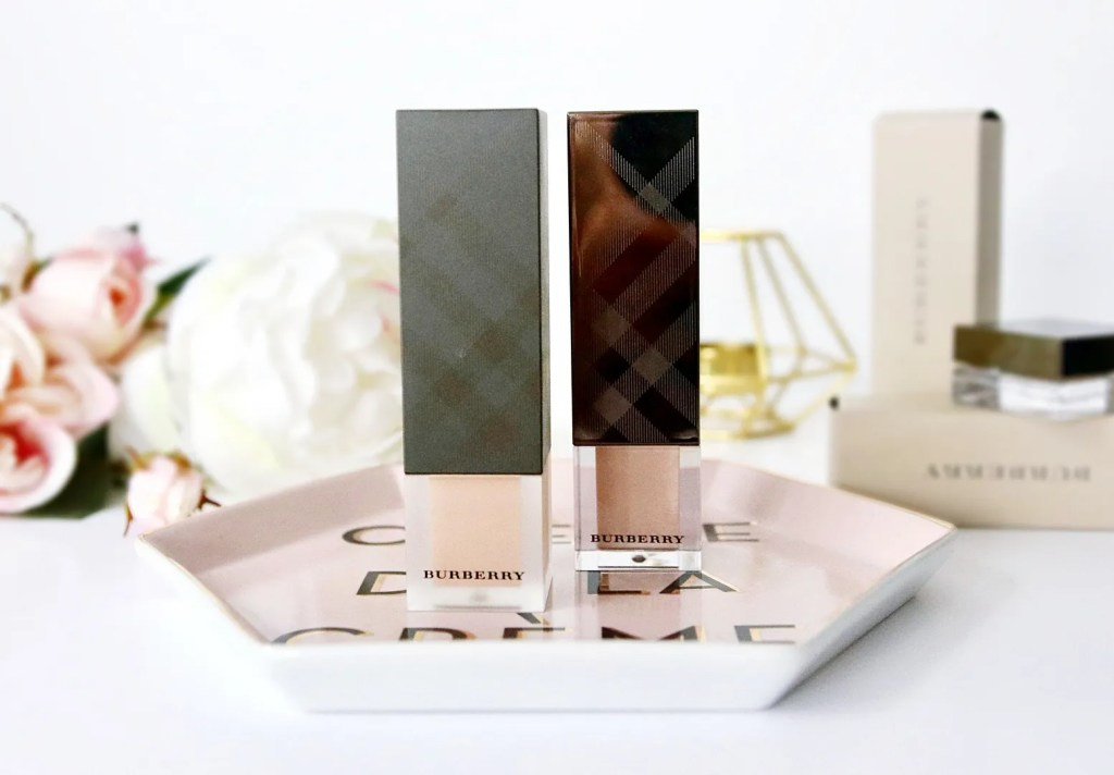 Burberry Fresh Glow & Cashmere Foundation Review - London Lifestyle & Beauty Blog The LDN Diaries