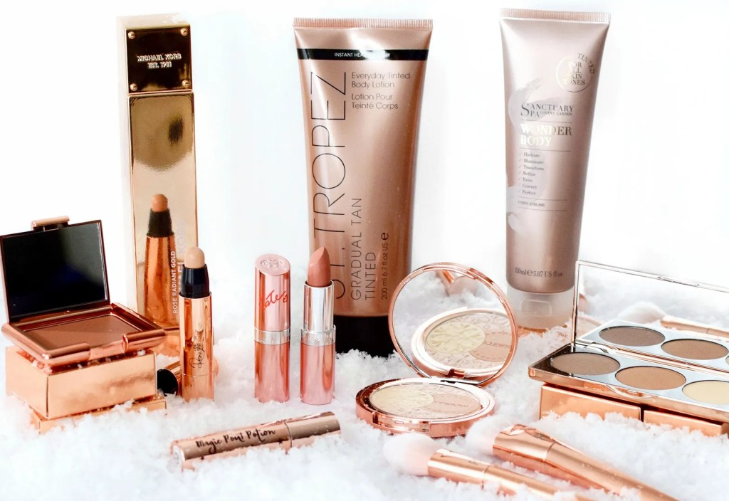 rose gold beauty gift ideas christmas 2016