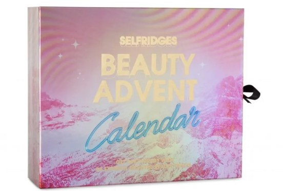 Selfridges beauty advent calendar 2016